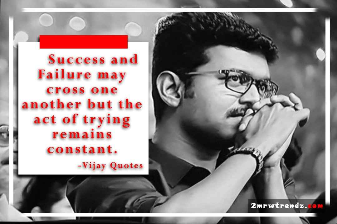 Vijay Images with quotes